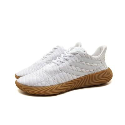 Tênis adidas Sobakov Modern- branco com caramelo