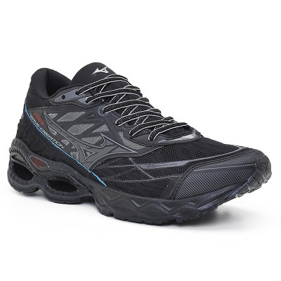 Tênis Mizuno Wave Creation 20  PRETO/PRETO