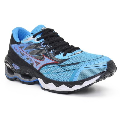 TÊNIS MIZUNO WAVE CREATION 20  AZUL CLARO