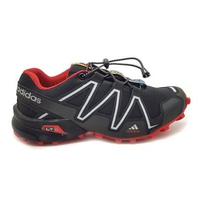 Tênis Adidas Speedcross 3  - preto com vermelho