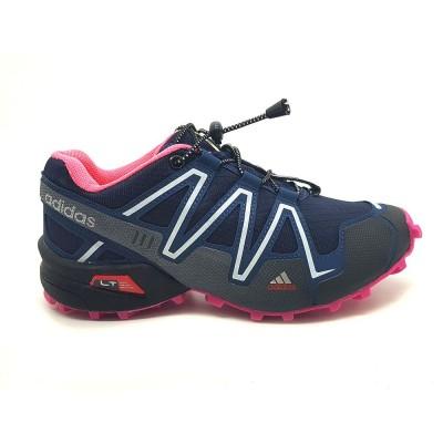 Tênis Adidas Speedcross 3 feminino - marinho-rosa
